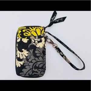 💛Vera Bradley wallet with phone case holder💛